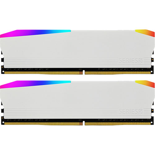 ANTEC AMD4UZ130001608G-5D [5 RGB Series 16GB(8GBx2枚組) DDR4 3000MHz(PC4-24000) 288Pin UDIMM CL16 White]