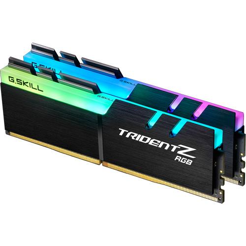G.SKILL F4-3200C16D-32GTZR [Trident Z RGB 32GB (16GBx2) DDR4 3200Mhz (PC4-25600) 1.35V XMP 2.0]