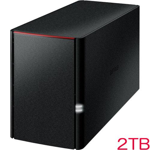 バッファロー LinkStation LS220D0202G [RAID機能搭載 ネットワーク対応HDD 2TB]