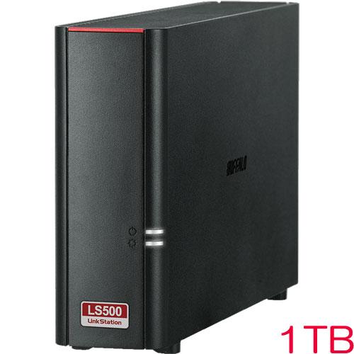 バッファロー LinkStation LS510D0101G [リンクステーション ネットワークHDD 高速 1TB]