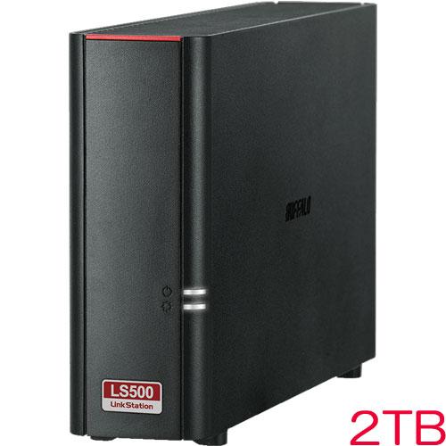 バッファロー LinkStation LS510D0201G [リンクステーション ネットワークHDD 高速 2TB]