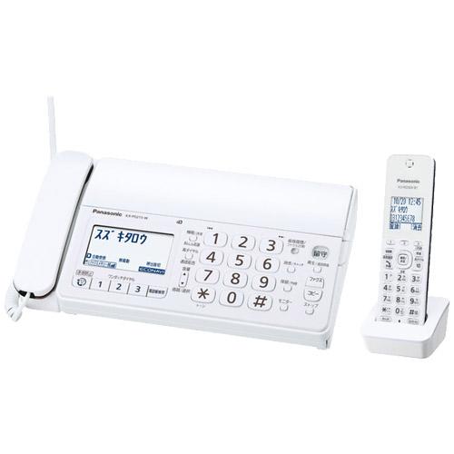 おたっくす KX-PD215DL-W [デジタルコードレス普通紙FAX(子機1台)(ホワイト)]