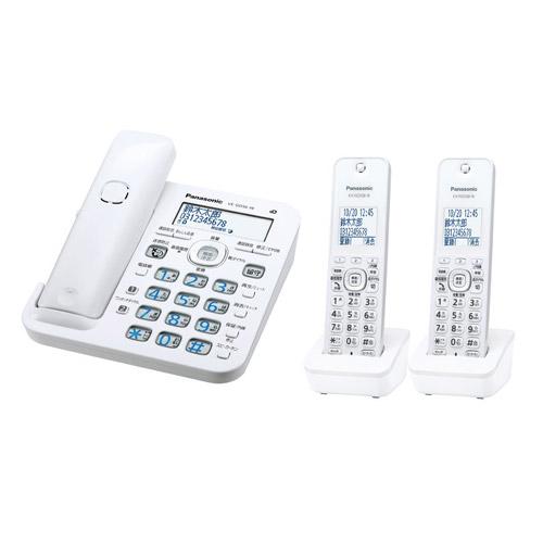 RU・RU・RU(ル・ル・ル) VE-GD56DW-W [コードレス電話機(子機2台)(ホワイト)]