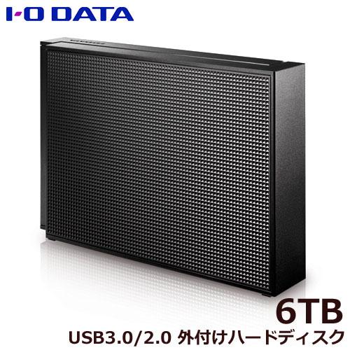 アイオーデータ HDCZ-UTL6K/E [USB 3.1 Gen 1(USB 3.0)/2.0対応 外付ハードディスク 6TB]