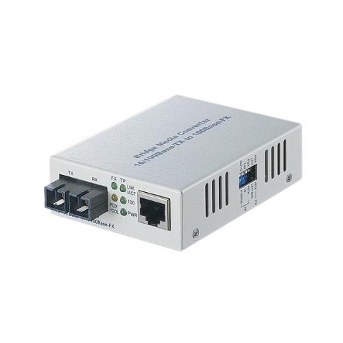 バッファロー LTR2-TX-MFC2R [光メディアコンバータ 2芯マルチモード 100BASE-TX:100BASE-FX(SC) 2km]