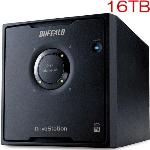 バッファロー HD-QL16TU3/R5J [RAID 5対応 USB3.0 外付HDD 4ドライブ 16TB]