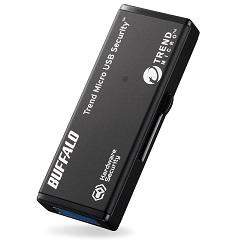バッファロー RUF3-HSL8GTV [ハードウェア暗号化機能 USB3.0 セキュリティーUSBメモリー ウイルススキャン1年 8GB]