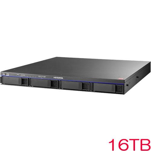 【送料無料】在庫僅少 アイオーデータ HDL4-H16R [「拡張ボリューム」採用4ドライブビジネスNAS 16TB]