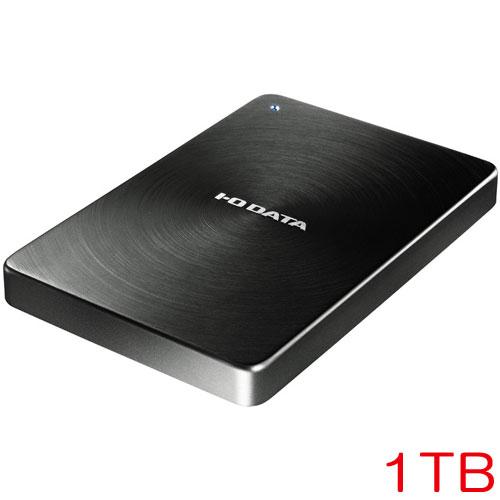 アイオーデータ HDPX-UTC1K [USB3.1 Type-C対応 ポータブルHDD 1TB ブラック]