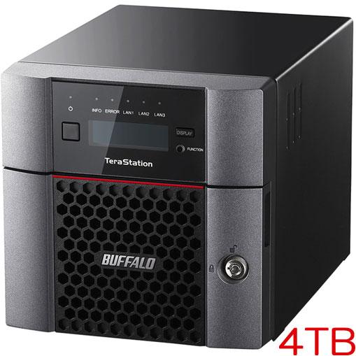 バッファロー TeraStation TS5210DN0402 [10GbE 法人向け 2ドライブNAS 4TB]
