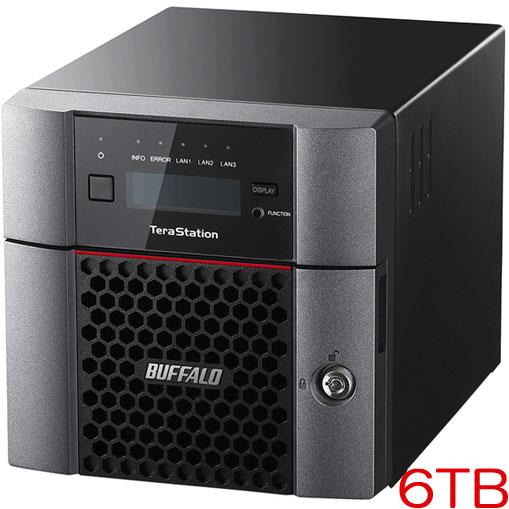 バッファロー TeraStation TS5210DN0602 [10GbE 法人向け 2ドライブNAS 6TB]