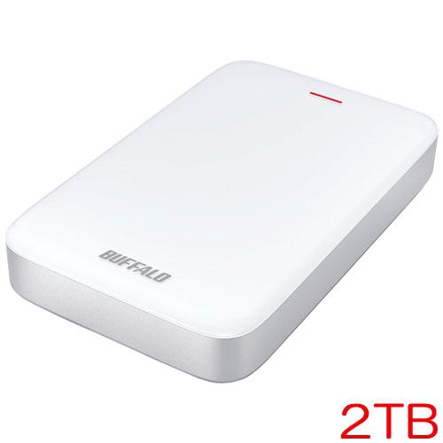 バッファロー MiniStation HD-PA2.0TU3-C [Thunderbolt&USB3.1/USB3.0 ポータブルHDD 2TB]
