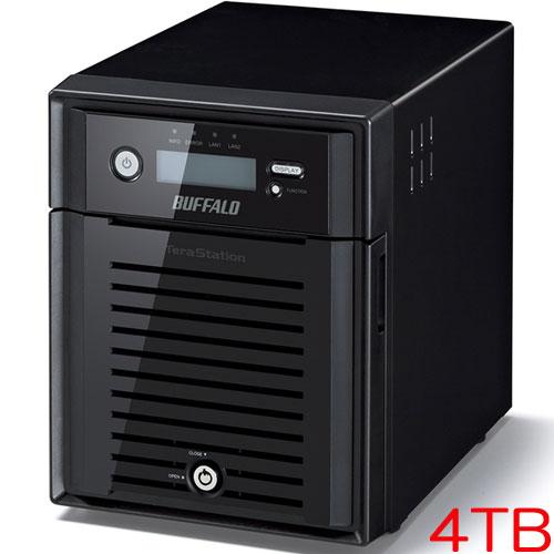 バッファロー TeraStation WSS WS5000N6 WS5400DN04S6 [WSS2016 SE搭載 4ベイ NAS 4TB]