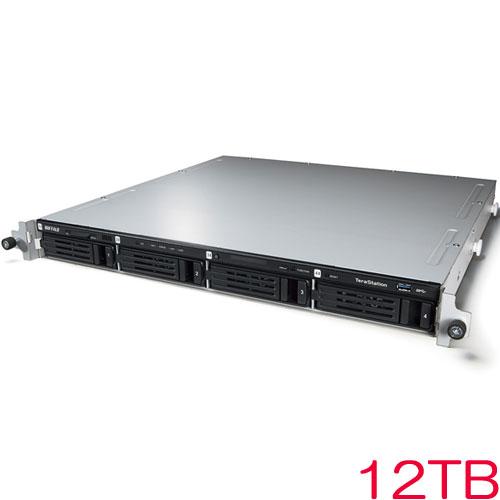 バッファロー TeraStation WSS WS5000N6 WS5400RN12W6 [WSS2016 WE搭載 4ベイ NAS ラックマウント 12TB]