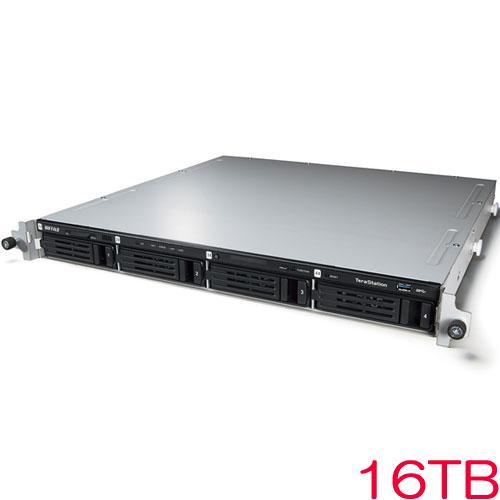 バッファロー TeraStation WSS WS5000N6 WS5400RN16S6 [WSS2016 SE搭載 4ベイ NAS ラックマウント 16TB]