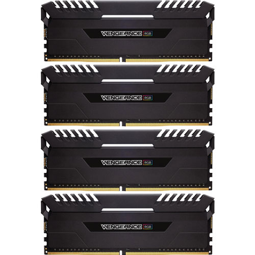 コルセア CMR32GX4M4C3200C16 [VENGEANCE RGB DDR4 PC4-25600 (3200MHz) 8GB 4枚組]