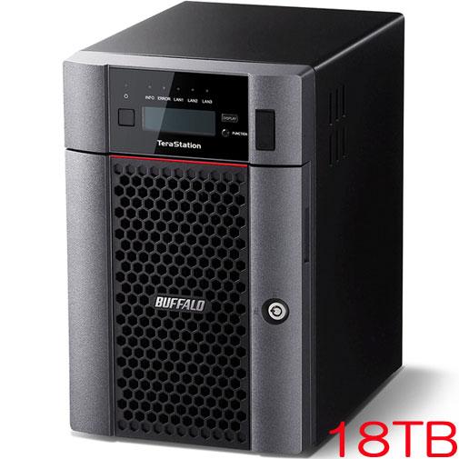 バッファロー TeraStation TS5610DN TS5610DN1806 [10GbE標準搭載 6ドライブNAS 18TB]