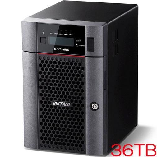 バッファロー TeraStation TS5610DN TS5610DN3606 [10GbE標準搭載 6ドライブNAS 36TB]