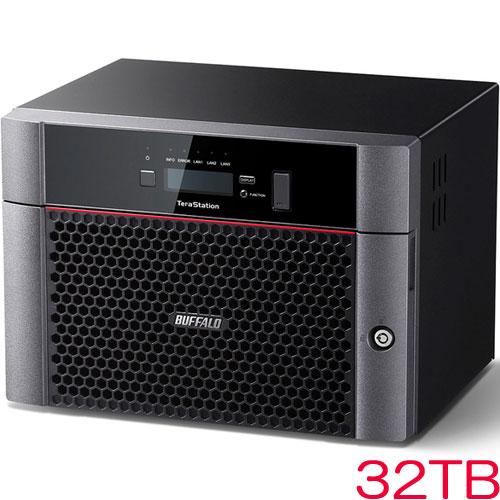 バッファロー TeraStation TS5610DN TS5810DN3208 [10GbE標準搭載 8ドライブNAS 32TB]