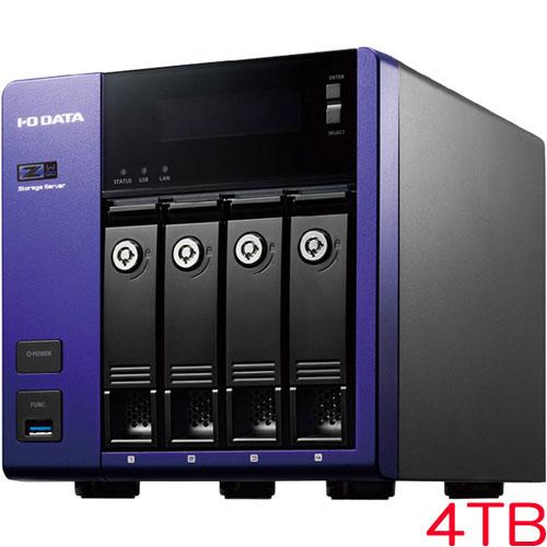 アイオーデータ HDL-Z4WQD HDL-Z4WQ4D [WSS2016 Wg/Celeron搭載 4ドライブNAS 4TB]