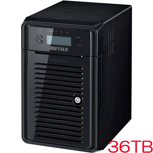 バッファロー TeraStation WSS HR WSH5610DN36S6 [WSS2016搭載NAS 36TB]
