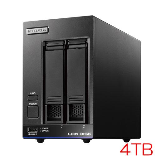 アイオーデータ HDL2-X/TM HDL2-X4/TM5 [TM NAS Security 2ドライブNAS 4TB ライセンス5年]