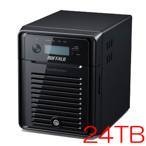 バッファロー WSH5411DN24S6 [TeraStation WSS HR WSS2016 SE NAS 24TB]
