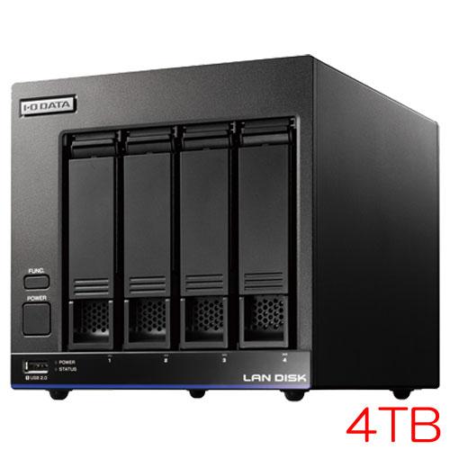 【送料無料】在庫僅少 アイオーデータ HDL4-X HDL4-X4/ST5 [高性能CPU搭載 4ドライブNAS 有償5Y保守 4TB]