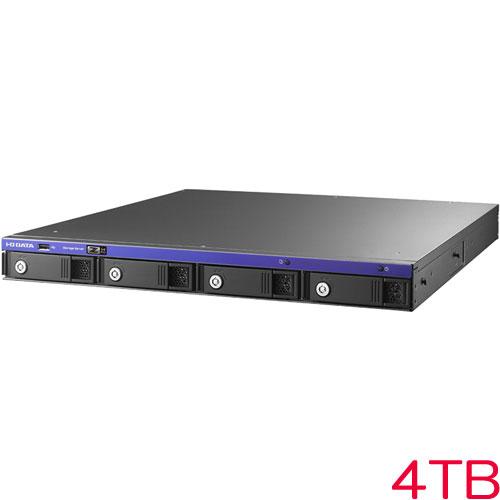 アイオーデータ HDL-Z4WPDR HDL-Z4WP4DR [WSS2016Std/Celeron 4ドライブ 1UラックNAS 4TB]