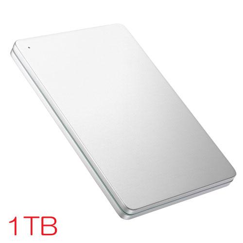 アイオーデータ HDPX-UTS HDPX-UTS1S [USB3.0対応ポータブルHDD 1TB Silver×Green]