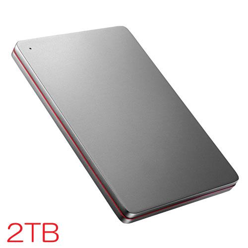 アイオーデータ HDPX-UTS HDPX-UTS2K [USB3.0対応ポータブルHDD 2TB Black×Red]