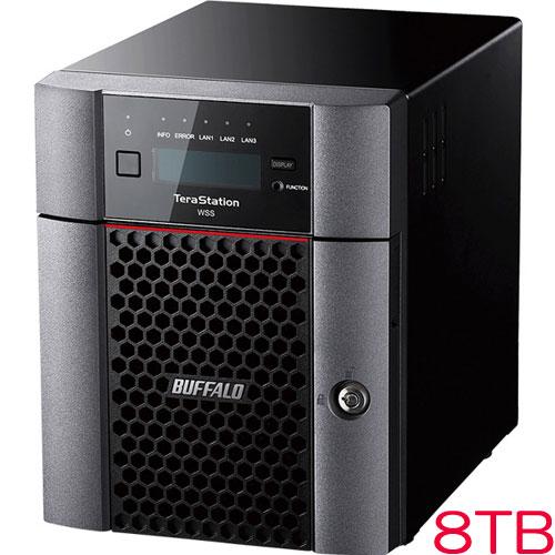 バッファロー TeraStation WSS WS5420DN08W6 [WSS2016 WE 4ドライブNAS 8TB]