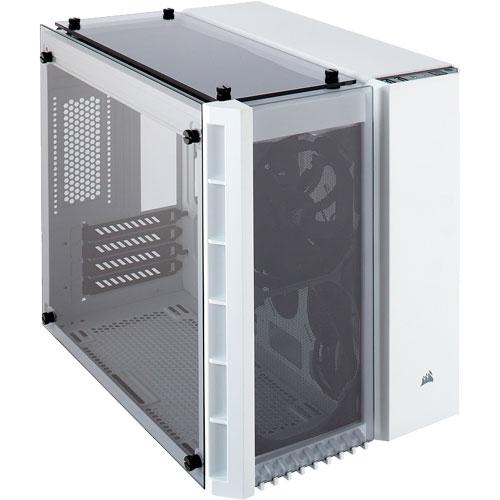 コルセア CC-9011136-WW [Micro ATXキューブPCケース Crystal Series 280X Tempered Glass White]