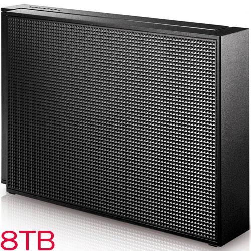 アイオーデータ HDCZ-UTC HDCZ-UT8KC [USB3.1 Gen1対応 外付HDD 8TB ブラック]