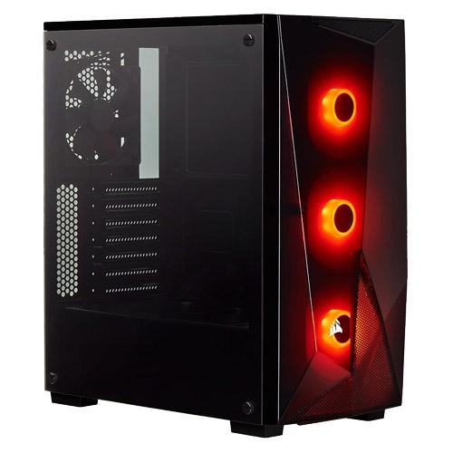 コルセア CC-9011166-WW [ATXミドルタワーケース Carbide Series SPEC-DELTA RGB Tempered Glass - Black]
