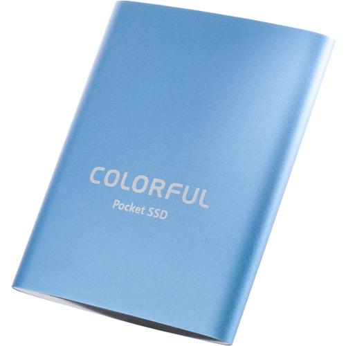 COLORFUL P100 1TB [1TB 外付けポータブルSSD USB3.1 Type-C 3年保証]