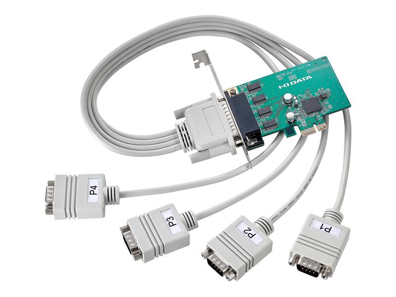 アイオーデータ RSA-EXP2 RSA-EXP2P4 [RS-232C拡張インターフェイスボード 4ポート]