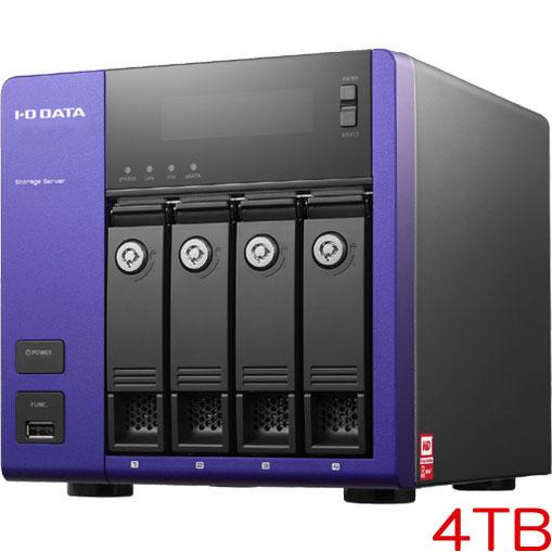 アイオーデータ HDL-Z4WM4C2 [WD Red搭載 Windows Storage Server 2012 R2 Workgroup Edition 4ドライブNAS 4TB]