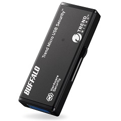 バッファロー RUF3-HSL8GTV3 [ハードウェア暗号化機能 USB3.0 セキュリティーUSBメモリー ウイルススキャン3年 8GB]