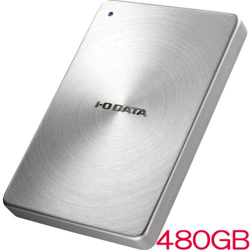 アイオーデータ SDPX-USCB SDPX-USC480SB [USB3.1 Gen2 Type-C対応 ポータブルSSD 480GB]