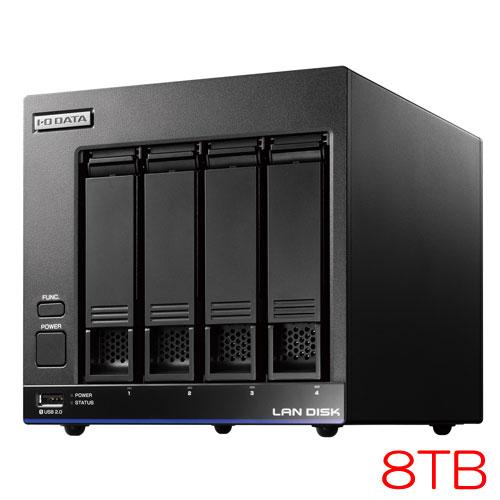 アイオーデータ HDL4-X/TM HDL4-X8/TM5 [TM NAS Security 4ドライブNAS 8TB ライセンス5年]