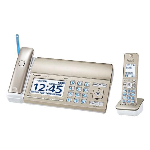 パナソニック おたっくす KX-PD725DL-N [デジタルコードレスファクス(子機1台)(シャンパンゴールド)]