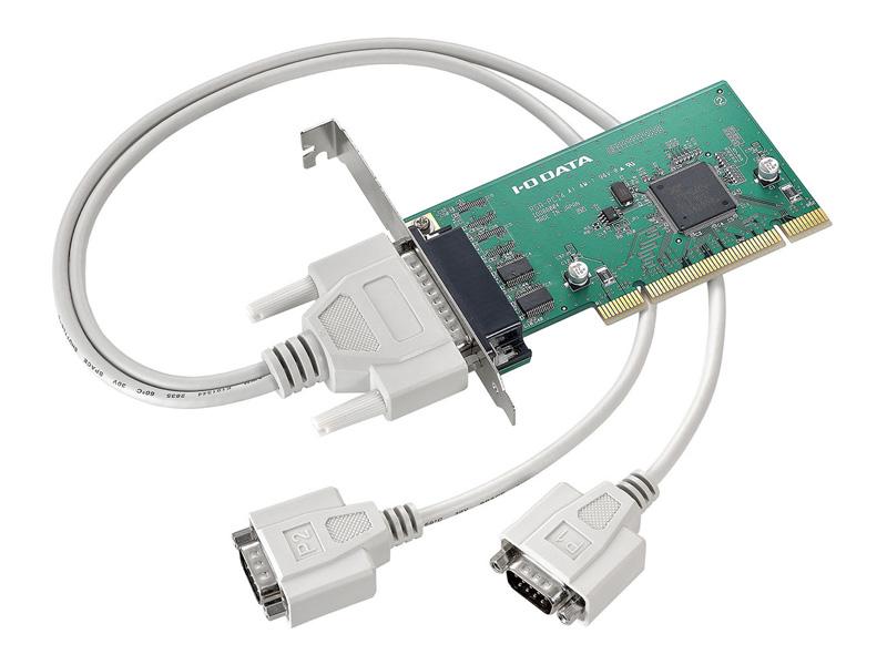 アイオーデータ RSA-PCI4 RSA-PCI4P2 [PCIバス専用RS-232C拡張インターフェイスボード 2ポート]