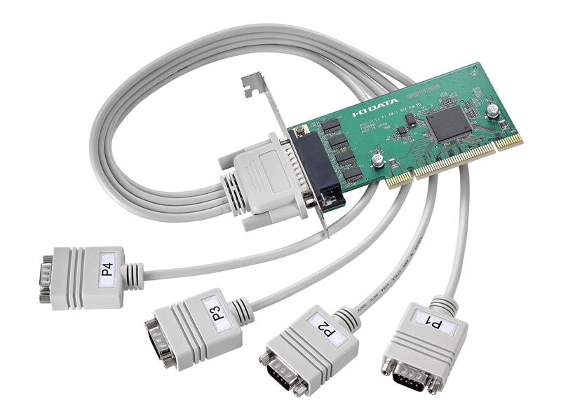 アイオーデータ RSA-PCI4 RSA-PCI4P4 [PCIバス専用RS-232C拡張インターフェイスボード 4ポート]