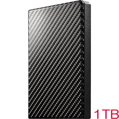 アイオーデータ HDPT-UTS HDPT-UTS1K [USB3.1 Gen1 ポータブルHDD カーボンブラック 1TB]