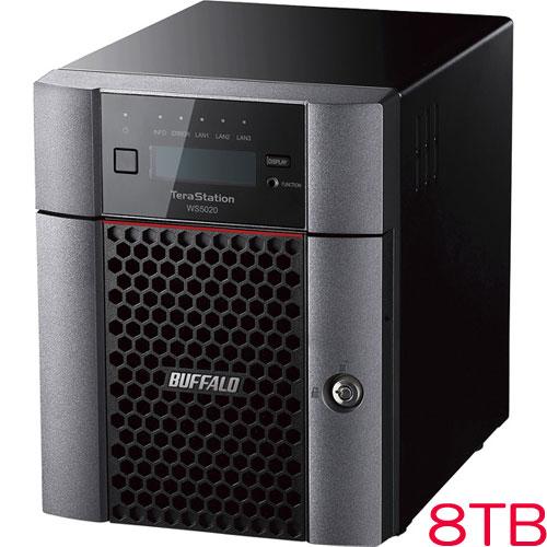 バッファロー TeraStation WS5420DN08W9 [WS IoT2019WE 4ベイデスクトップNAS 8TB]