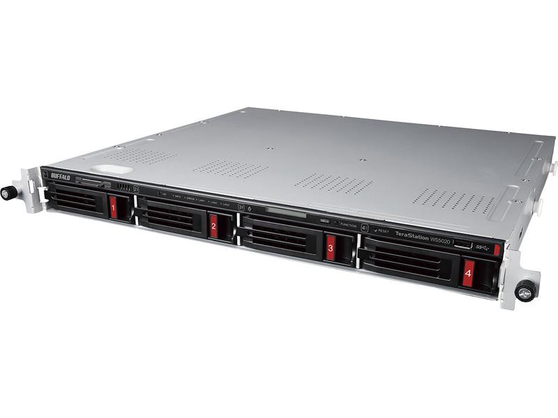 TeraStation WS5420RN04W9 [WS IoT2019WE 4ベイラックマウントNAS 4TB]