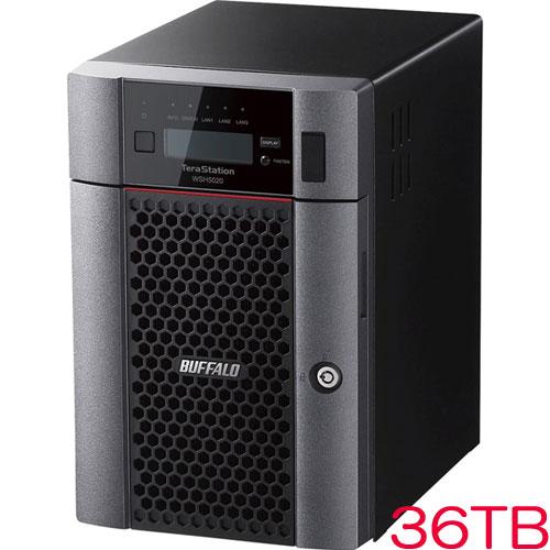 バッファロー TeraStation WSH5620DN36S9 [HWRAID WS IoT2019SE 6ベイデスクトップNAS 36TB]