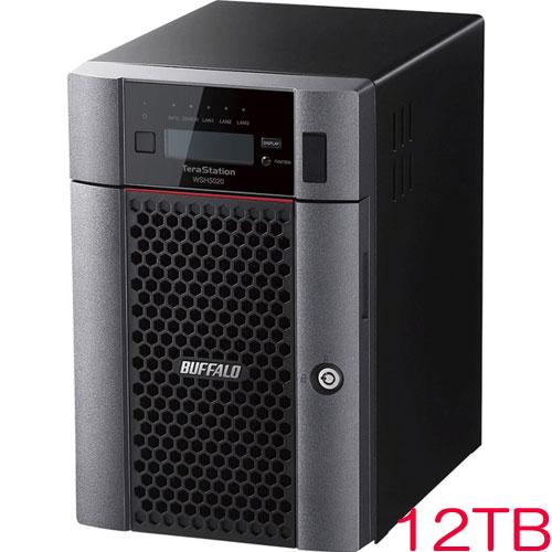 バッファロー TeraStation WSH5620DN12S9 [HWRAID WS IoT2019SE 6ベイデスクトップNAS 12TB]
