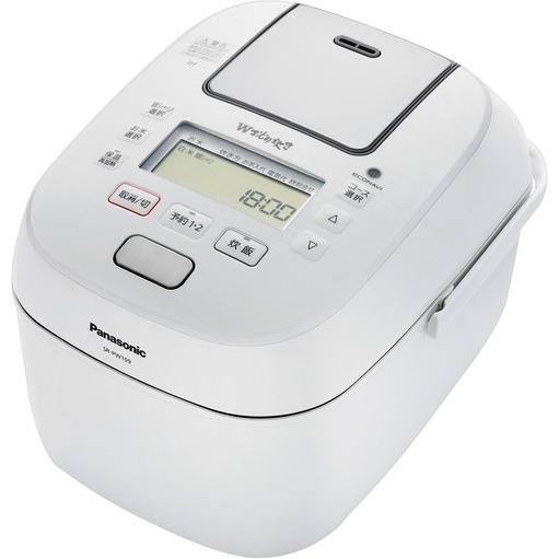 パナソニック SR-PW109-W [可変圧力IHジャー炊飯器 1.0L (ホワイト)]